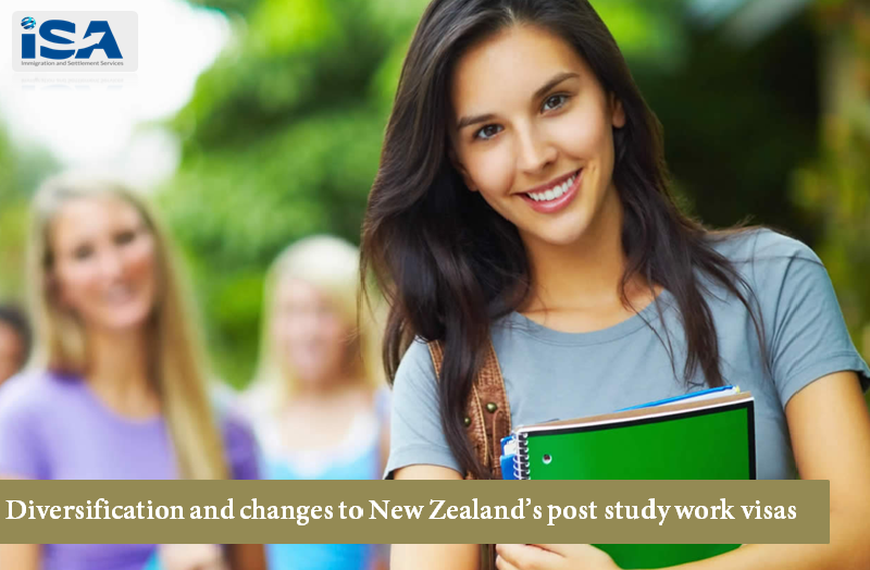 New zealand study work visa diversification