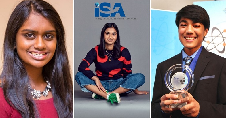 Three Indian origin students -most influential teenagers 2018